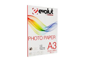 Papel Foto High Glossy Dupla Face A3 220g 20fls