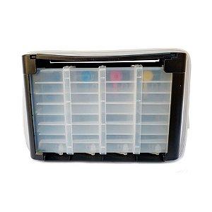 Compatível: Reservatório Bulk Ink HP 2135 com Acessórios e Suporte