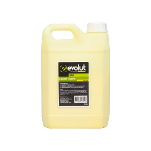 Compatível: Pó de Toner Samsung S51 Yellow Bottle 1kg Evolut