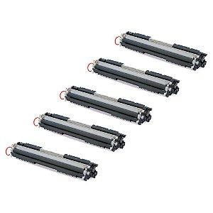 Compatível: Kit 5 Toner HP CE310A | CF350A 1.3k Evolut