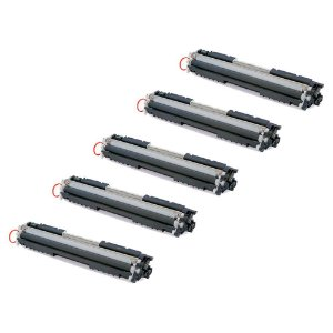 Compatível: Kit 5 Toner HP CE313A | CF353A Magenta 1k Evolut