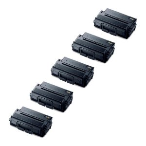 Compatível: Kit 5 Toner Samsung D203 | SL M4020ND 15k Evolut