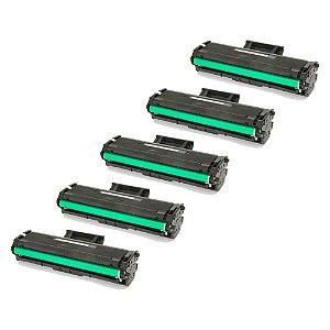 Compatível: Kit 5 Toner Samsung D111S | SCX2060 1k Evolut