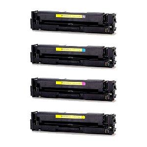 Compatível: Kit 4 Toner HP CF400X|CF401X|CF402X|CF403X CMYK Evolut