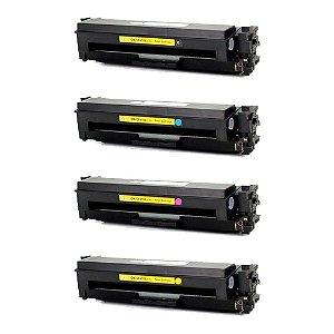 Compatível: Kit 4 Toner HP CF410X|CF411X|CF412X|CF413X CMYK Evolut