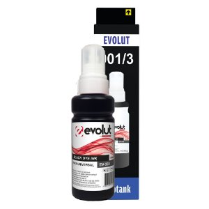 Compatível: Tinta Universal Epson/HP EV365(664/673) Black 100ml Evolut