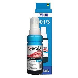 Compatível: Tinta Universal Epson/HP EV365(664/673) Cyan 100ml Evolut