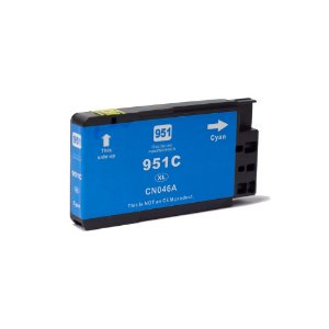 Compatível: Cartucho de Tinta HP 951XL Cyan 19,5ml Evolut