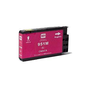 Compatível: Cartucho de Tinta HP 951XL Magenta 19,5ml Evolut