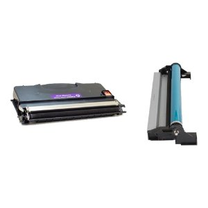 Compatível: Kit Fotocondutor + Toner Lexmark 12018SL | E120  Evolut