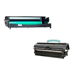Compatível: Kit Fotocondutor + Toner Lexmark E250 | E250A11L Evolut