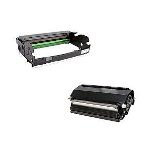 Compatível: Kit Fotocondutor + Toner Lexmark E360 | E260A11L Evolut