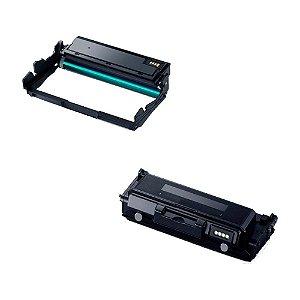 Compatível: Kit Fotocondutor + Toner Samsung MLT-R204   D204 Evolut
