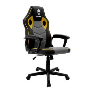 Cadeira Gamer Hunter Amarela EG-903 Evolut