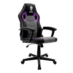 Cadeira Gamer Hunter Roxa EG-903 Evolut
