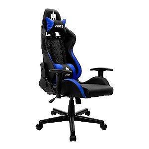 Cadeira Gamer Tanker V2 Azul EG-905 Evolut