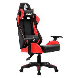 Cadeira Gamer Lite EG-904 Vermelho Evolut