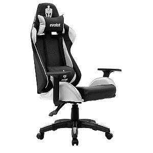 Cadeira Gamer Lite EG-904 Branco Evolut