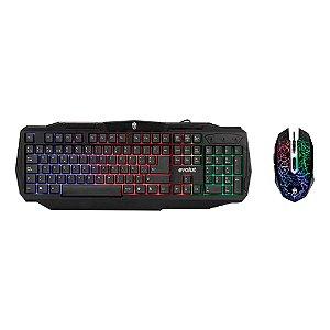 Kit Gamer TM2 (teclado+mouse) Evolut