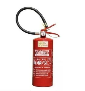 Extintor Pó Químico ABC 4 kg - 5 anos validade