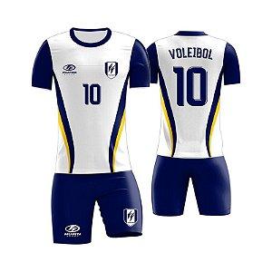 Uniforme Voleibol Completo de Jogo / Treino Adulto