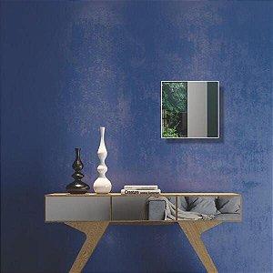 Espelho Decorativo Quadrado 30Cm - Dalla Costa - Off White Dalla Costa