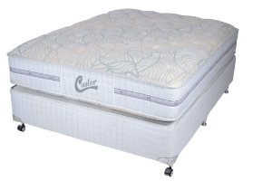 Cama Box King Casal Castor Vitagel Classic Double Face 180X200x066