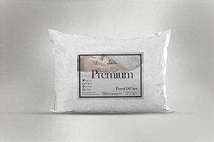 Kit Travesseiro Premium 2 Peças 50x70 cm 180 fios Branco