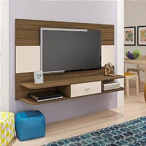 Painel Para TV até 50 Polegadas Studio Amêndoa Artely