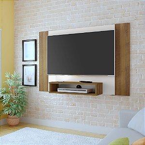 Painel Para  TV até 40 polegadas Cine Pinho Off White Artely