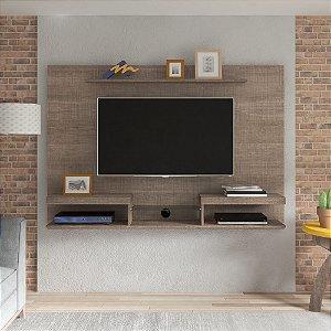 Painel Essence Para Tv Até 47 Polegadas Canela Com Suporte