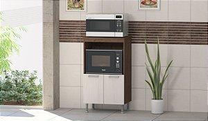 Balcão para  forno e Micro-ondas Indekes  2 Portas