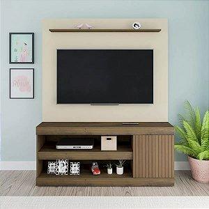 Estante Home Capri  Para Tv  Até 60 Polegadas Artely Pinho