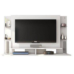 Painel Para Tv 52 Polegadas Domínio  Caemmun Branco