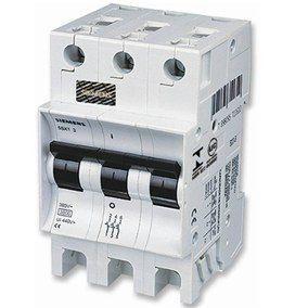 Mini Disjuntor 3P 3Ka Curva C, Marca Siemens