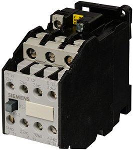 Contator 3P 220V 3Tf43, Marca Siemens