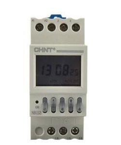 Programador Hor 220V  On/Off Nkg3, Marca Chint