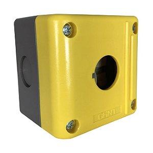 Caixa Amarela 1F P/ Botão IP54 NPH1 10J, Marca Chint
