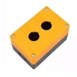 Caixa Amarela 2F P/ Botao IP54 NPH1 20J, Marca Chint