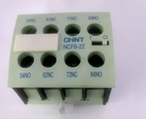 Contato Auxiliar CF 2Na+2Nf Ncf6 22, Marca Chint
