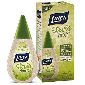 Adoçante 100% Stevia 60ml - Linea