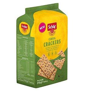 Biscoito salgado sem glúten Cereal Crackers 210g - Schär