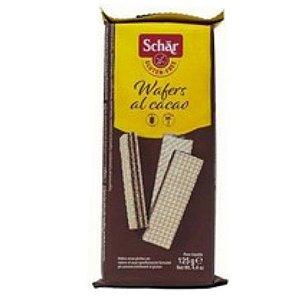 Wafers al cacao - Biscoito tipo wafer com recheio de cacau sem glúten 125g - Schär