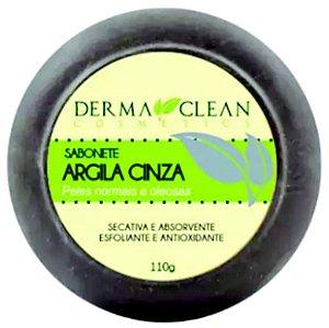 Sabonete de Argila Cinza 110g – Derma Clean Cosmetics