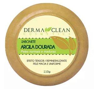 Sabonete de Argila Dourada 110g – Derma Clean Cosmetics.