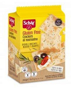 Crackers al rosmarino 210g – Dr. Schär