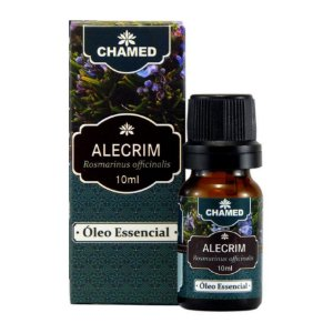 Óleo Essencial de Alecrim 10ml – Rosmarinus officinalis - Chamed