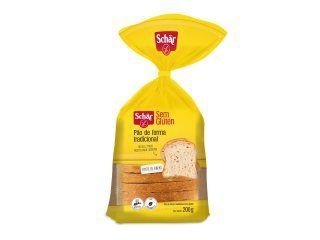 Pão de Forma Tradicional Sem Glúten Schär - 200g