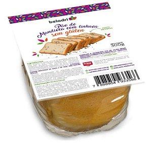 Pão de Mandioca Com Linhaça Sem Glúten 300g – Beladri
