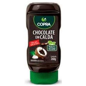 Chocolate em calda de coco 260g – Copra
